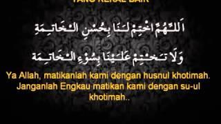 Doa setelah sholat fardhu 5 doa