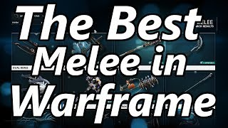 The Best Melee Weapon in Warframe