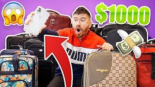 I Bought $1000 of Lost Luggage at an Auction and Found This.. (iPhone XS?!)