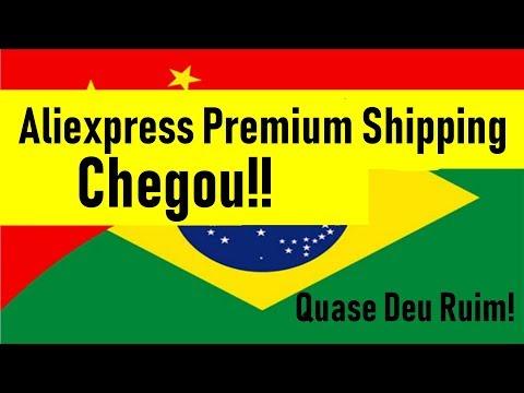 Chegouu! Aliexpress Premium Shipping parte 2 - YouTube