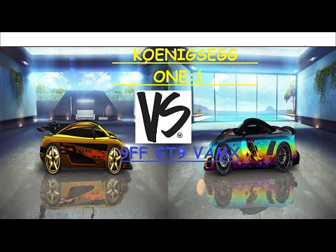 Koenigsegg One:1 VS 9FF GT9 VMAX