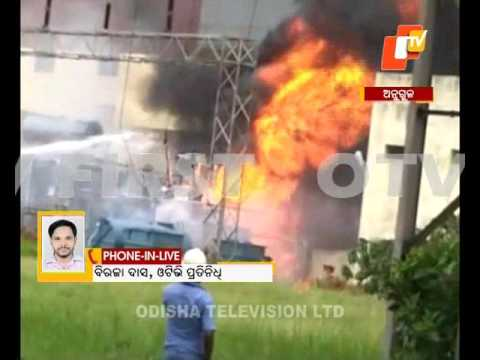 Fire in Anugul Nalco Power Plant