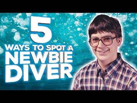 How To Spot A Newbie Diver