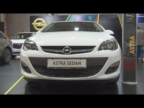 Opel Astra J Sedan 1.6 16V MT6 (2016) Exterior and Interior