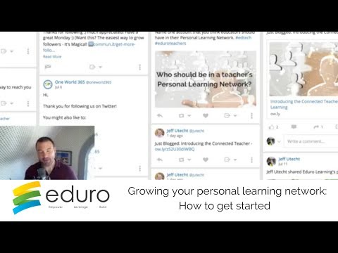 How to grow your Personal Learning Network