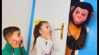 Откуда появилась обезьяна в доме Что придумали дети?