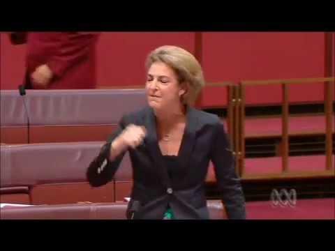 WA Liberal Senator Michaelie Cash:  'Chalice of blood' speech