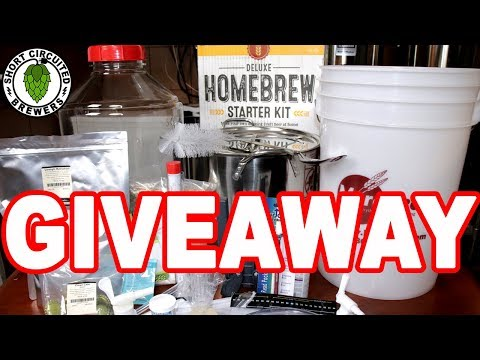 Deluxe Homebrew Kit Giveaway | MoreBeer Includes Pale Ale Kit
