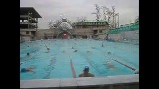 Открытый бассейн Чайка. Москва