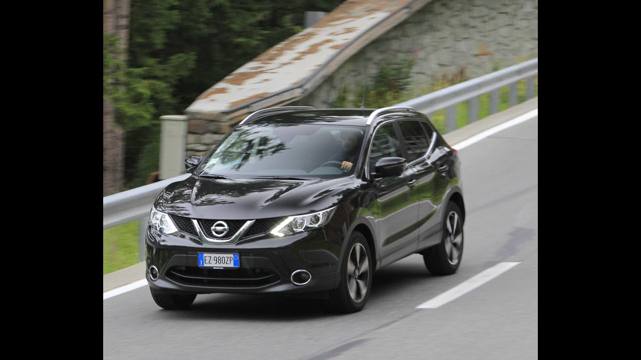 test drive nissan qashqai 360 dig t 115 youtube. Black Bedroom Furniture Sets. Home Design Ideas