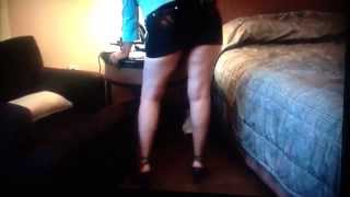 my hot wife dancing for me and my friend