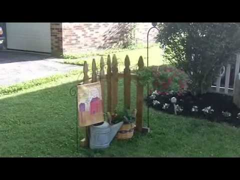 Primitive Country Decorating Ideas - Outdoor Yard Displays ...