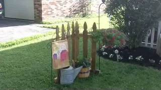 Primitive Country Decorating Ideas - Outdoor Yard Displays