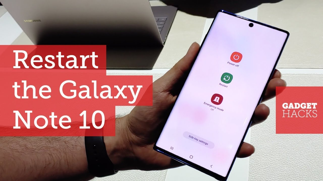 How to Turn Off or Restart Your Galaxy Note 10 or Note 10+ « Android