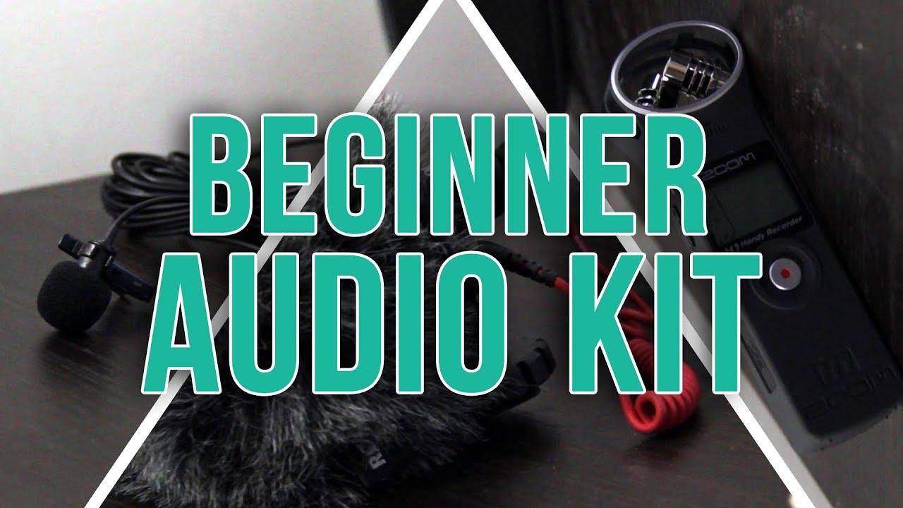 100 Beginner Video Audio Kit Rode Videomicro Zoom H1 And Boya By