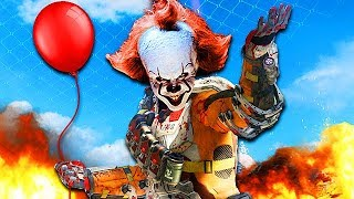 PENNYWISE SCARES MORE PLAYERS ON CALL OF DUTY! (Voice Trolling)