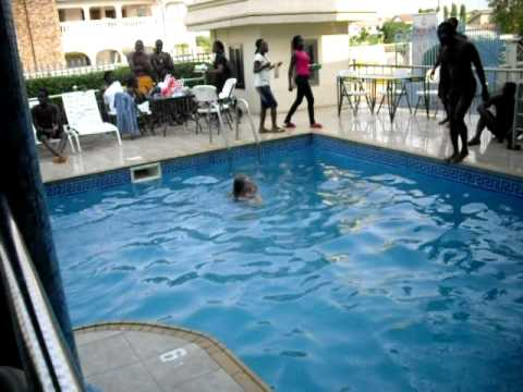 Accra Ghana Pool Party II - Ghanaian music-