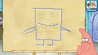 SpongeBob: Sketch It, Guess It - Patrick is not Impressed by your Drawing Skills (Nickelodeon Games)