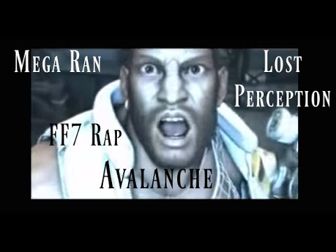 """AVALANCHE"" (FF7 rap remix) - Random (Mega Ran) and Lost Perception"