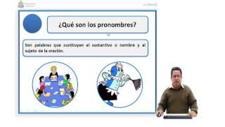 Ibertel. Curso de Español 18. 6º Grado. Pronombres