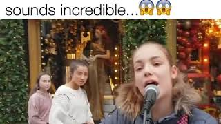 """Music Life - This street performer singing """"Shallow"""""""