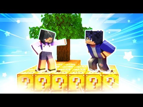 Download Minecraft Skyblocks but EVERYTHING Is LUCKY BLOCKS