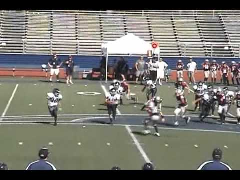 JT #10 Pop Warner - San Marcos Barons vs Menifee Predators
