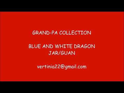 Blue & White Dragon jar Ming Dynasty (XuanDe period)