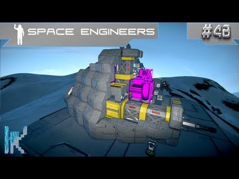 Let's Play Space Engineers - E48: Void Thrusters Defeat Gravity & Hull Design Issues