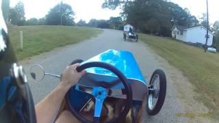 Cyclekart helmet cam test video #becausecyclekart
