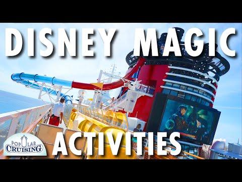 Disney Magic Tour & Review: Activities ~ Disney Cruise Line ~ Cruise Ship Tour & Review