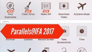 Parallels Toolbox - Clean Drive and Make GIF DEMO (ENG)