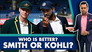 Who's BETTER? SMITH or KOHLI?   #AakashVani   Cricket Analysis