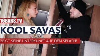 Kool Savas zeigt seine Unterkunft auf dem splash! (16BARS.TV)