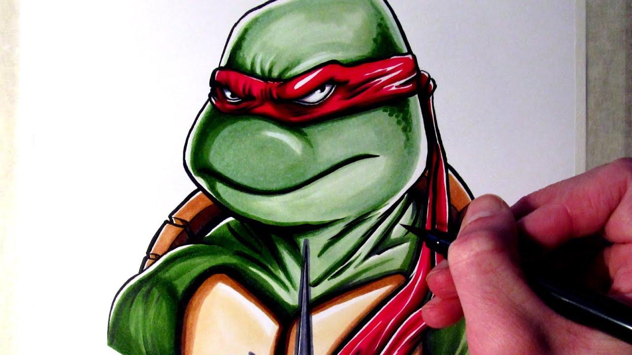 how to draw teenage mutant ninja turtles weapons