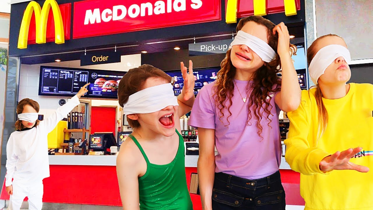 CHOOSING FOOD OFF THE MENU BLINDFOLDED FOR THE DAY w/The Norris Nuts