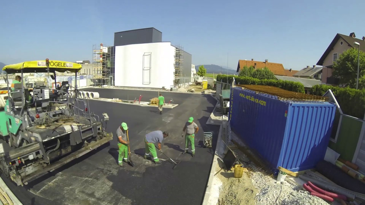 Knauf Insulation Experience Center – gradnja – Timelaps