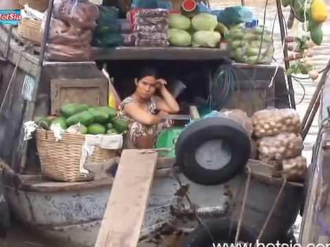 ca mau fresh market vietnam(ตลาดเช้าจังหวัดกาเมา)