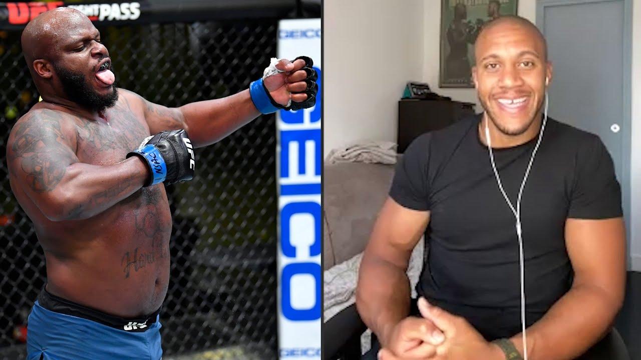 Ciryl Gane on Interim Title Fight vs Derrick Lewis | UFC 265