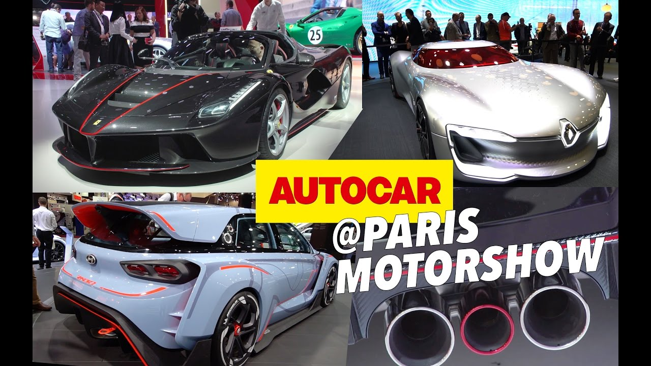 Paris Motor Show 2016 - The 14 cars you need to see | Autocar - YouTube