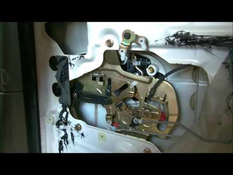 DIY 02-05 Kia Sedona rear door handle replacement