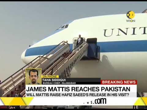 Download Youtube: US Defence Secretary James Mattis reaches Pakistan