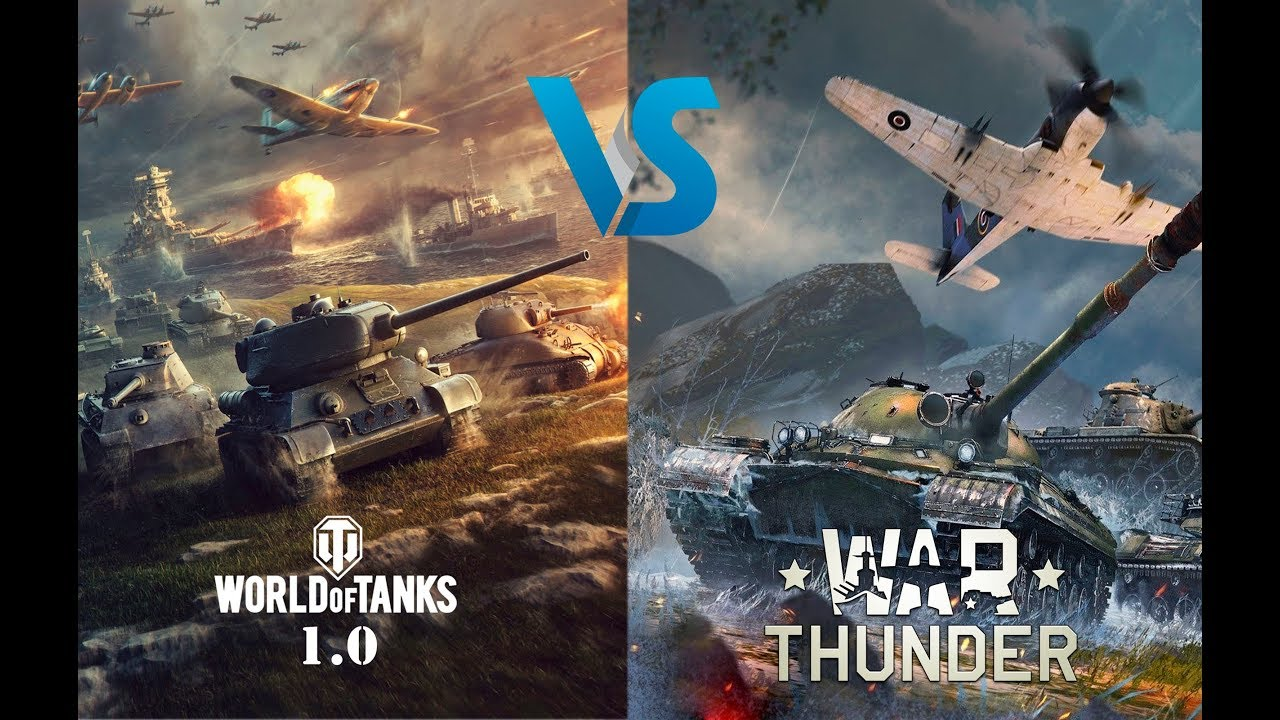 war thunder vs world of