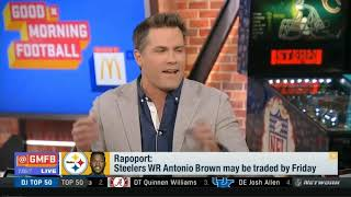 Steelers WR Antonio Brown may be traded by Friday