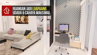 Inspirasi Desain Interior Ruang Tamu Dan Ruang Keluarga