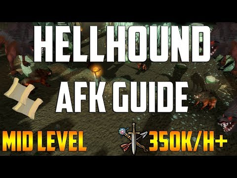 Runescape 3 - Hellhound AFK Guide 2018 | Up To 400k/h