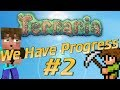 Terraria Noob | Mining Building and Meeting New People | Terraria Lets Play | How to Play Terraria