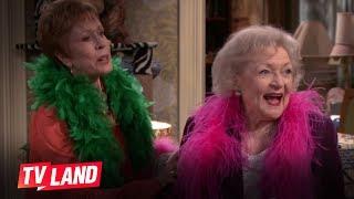 Hot in Cleveland: Betty White & Carol Burnett Reuinon