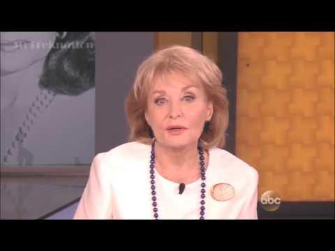 Barbara Walters - Final Farewell - The View 5-16-14