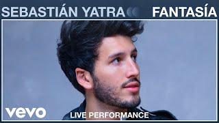 Смотреть клип Sebastián Yatra - Fantasía | Live